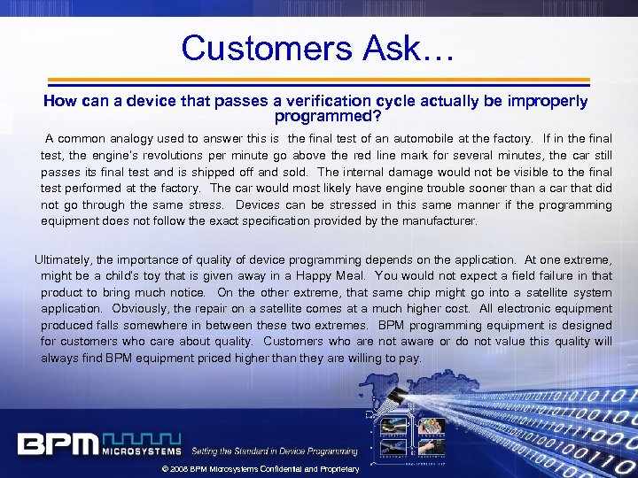 Customers Ask… How can a device that passes a verification cycle actually be improperly