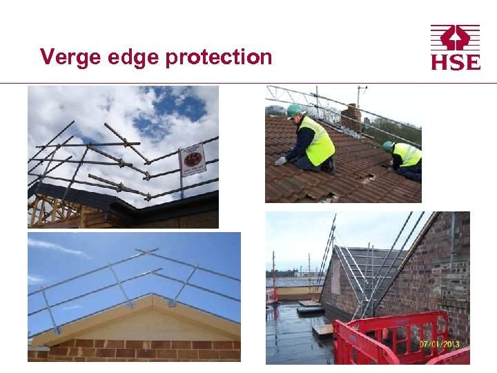 Verge edge protection