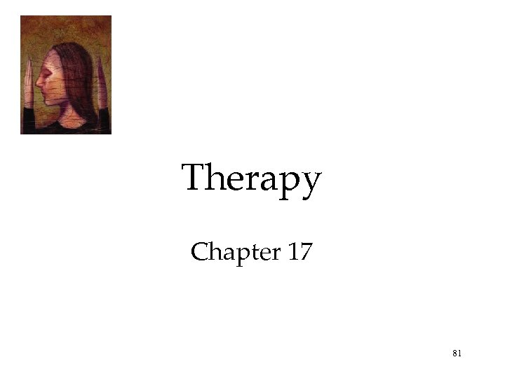 Therapy Chapter 17 81