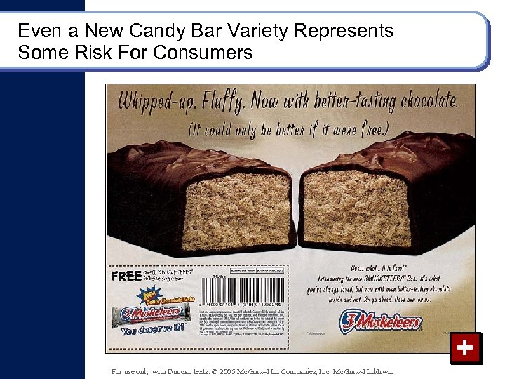 Even a New Candy Bar Variety Represents Some Risk For Consumers + For use
