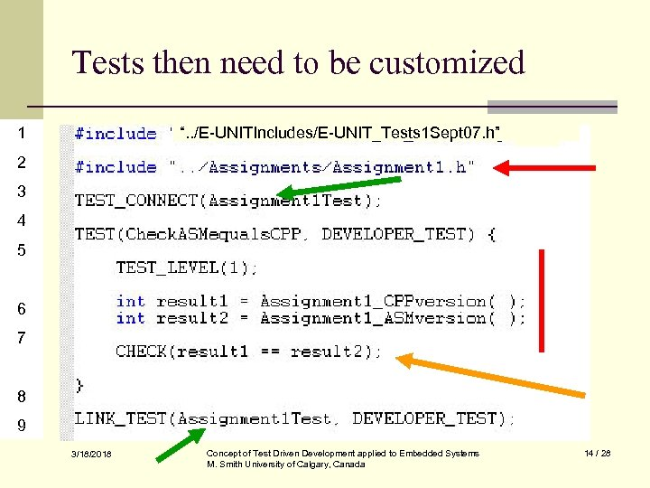 """Tests then need to be customized 1 """". . /E-UNITIncludes/E-UNIT_Tests 1 Sept 07. h"""""""