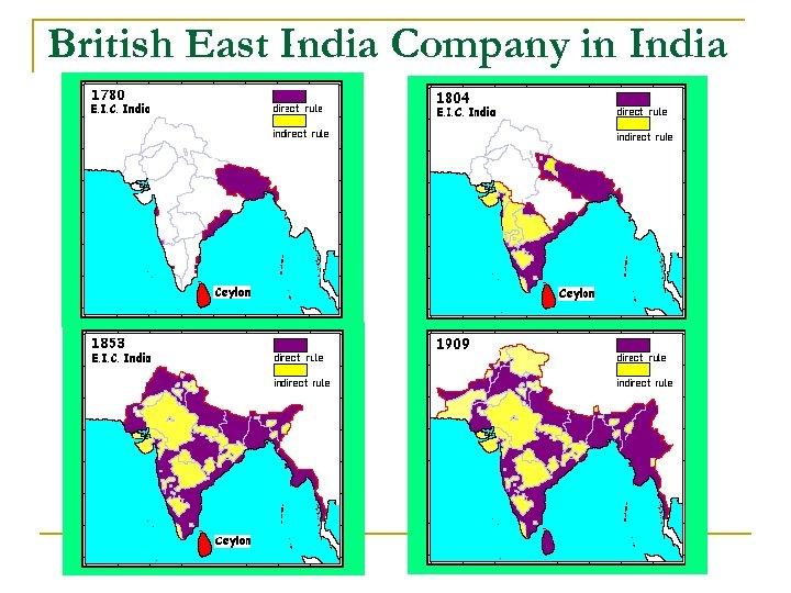British East India Company in India