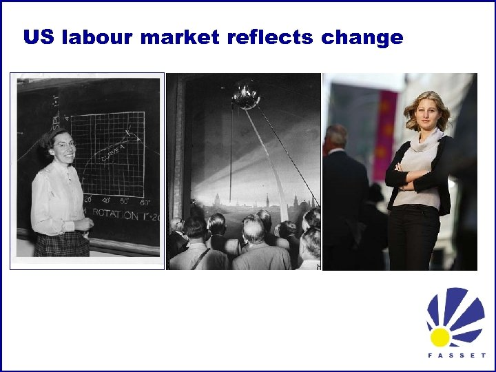 US labour market reflects change