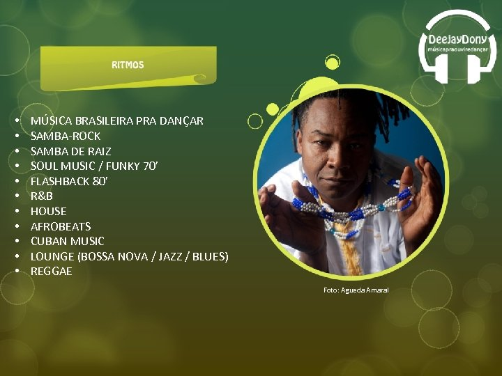 • • • MÚSICA BRASILEIRA PRA DANÇAR SAMBA-ROCK SAMBA DE RAIZ SOUL MUSIC