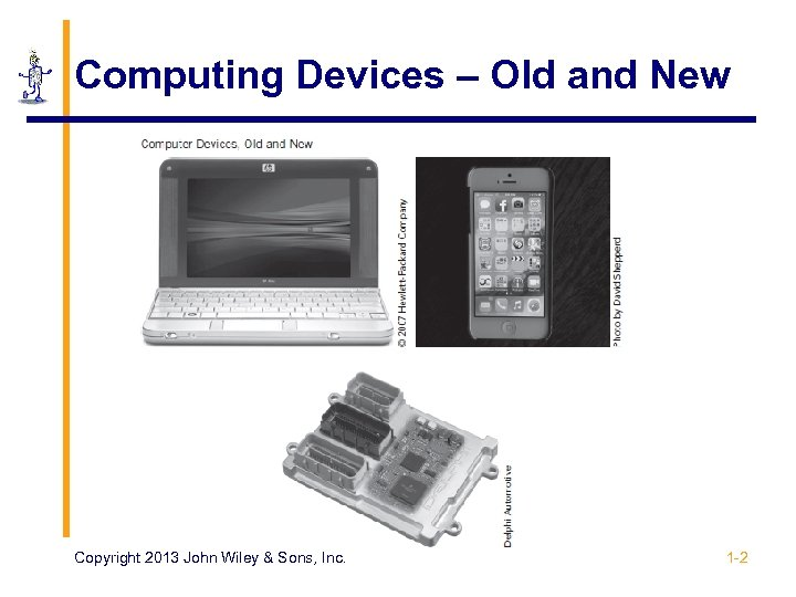 Computing Devices – Old and New Copyright 2013 John Wiley & Sons, Inc. 1