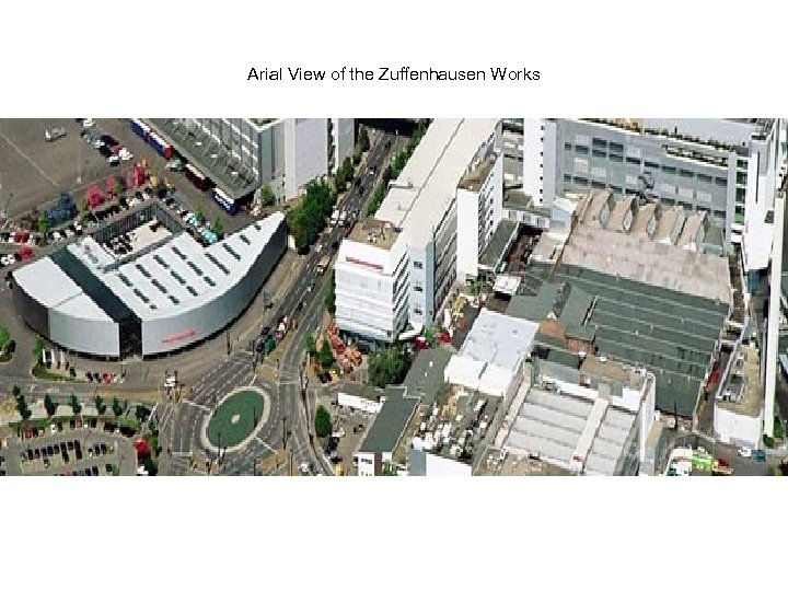 Arial View of the Zuffenhausen Works