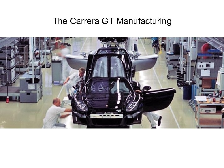 The Carrera GT Manufacturing