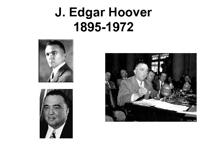 a brief biogarphy of edgar hoover Synopsis: biopic of j edgar hoover told by hoover as he recalls his career for a biography early in his career, hoover fixated on communists, anarchists and any other revolutionary taking action against the us government.