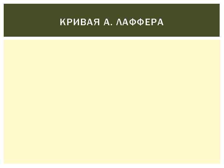 КРИВАЯ А. ЛАФФЕРА
