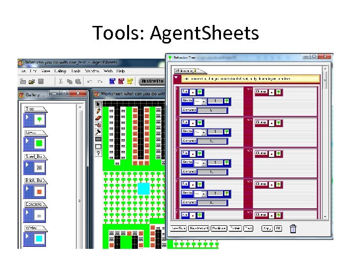 Tools: Agent. Sheets