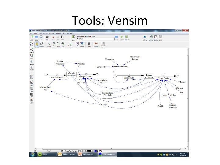 Tools: Vensim