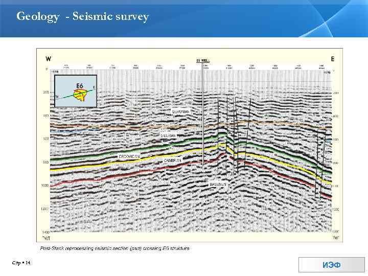 Geology - Seismic survey Стр 14 ИЭФ