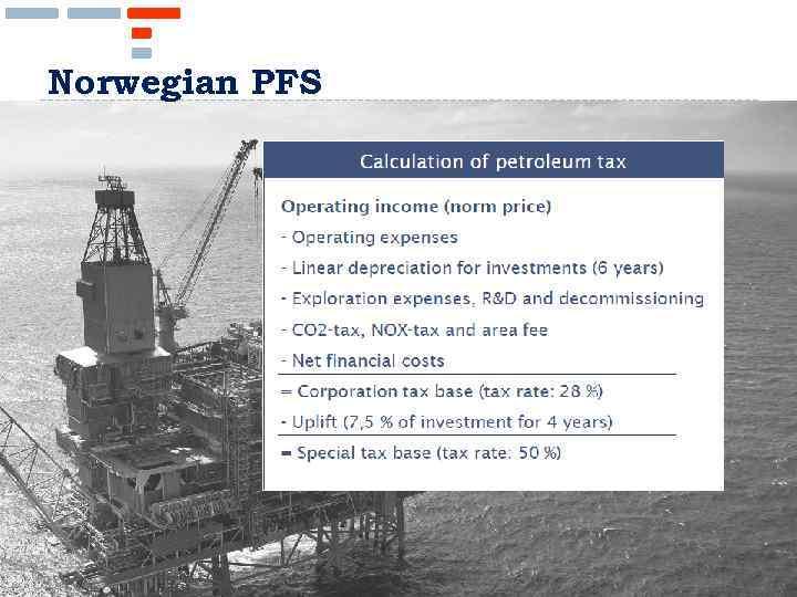 Norwegian PFS