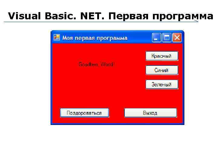 петроутсос visual basic net