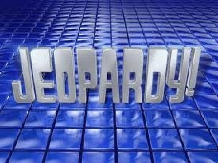 JEOPARDY! Click Once to Begin Nutrition Template by Bill Arcuri, WCSD