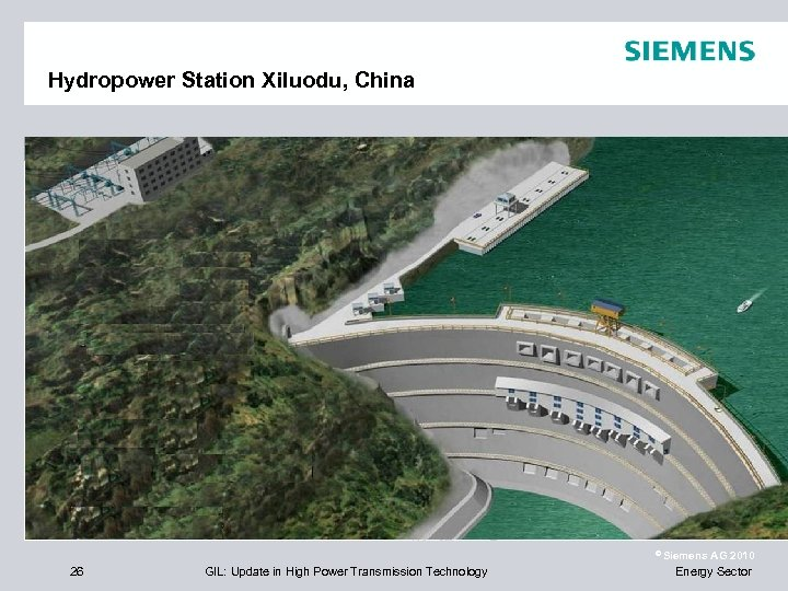 Hydropower Station Xiluodu, China Left Bank Right Bank 620 m End User China Three