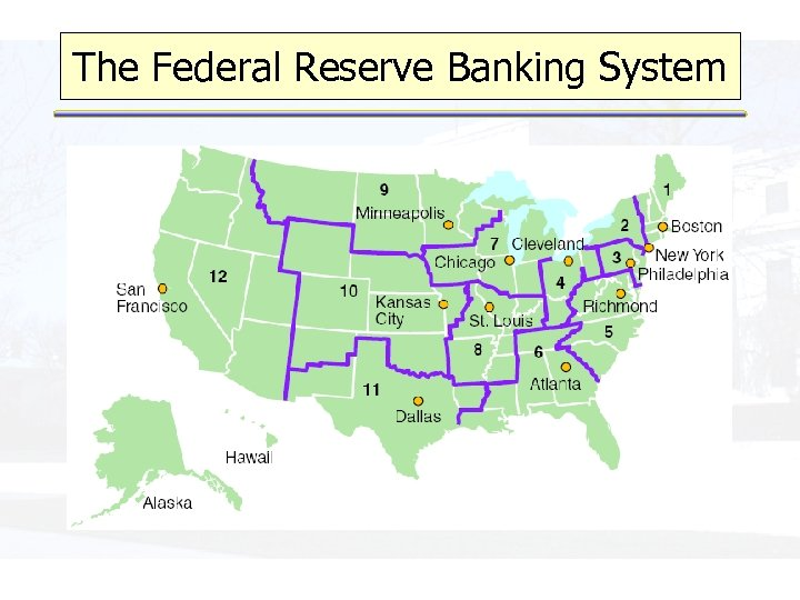 The Federal Reserve Banking System