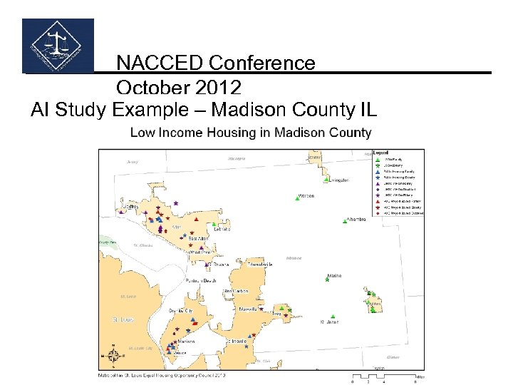 NACCED Conference October 2012 AI Study Example – Madison County IL