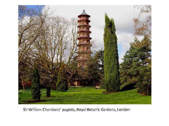 Sir William Chambers' pagoda, Royal Botanic Gardens, London