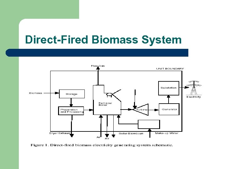 Direct-Fired Biomass System