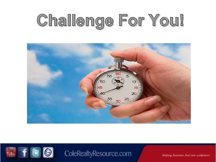 Challenge For You! 9