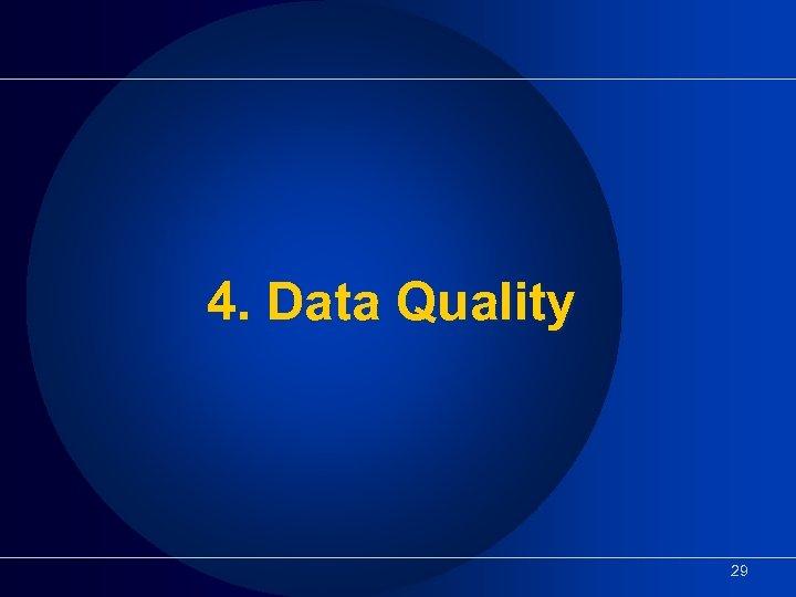 4. Data Quality 29