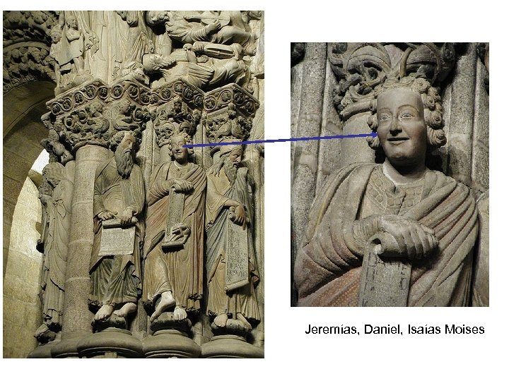 Jeremías, Daniel, Isaías Moises