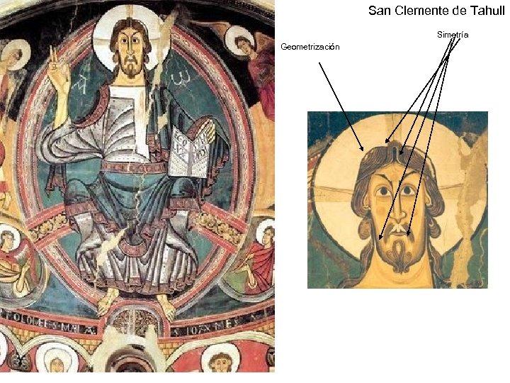San Clemente de Tahull Simetría Geometrización Claseshistoria