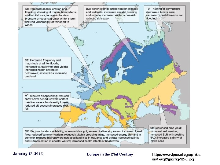 January 17, 2013 Europe in the 21 st Century http: //www. ipcc. ch/graphics /ar