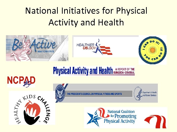 National Initiatives for Physical Activity and Health