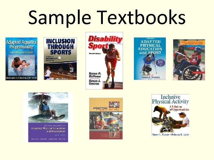 Sample Textbooks