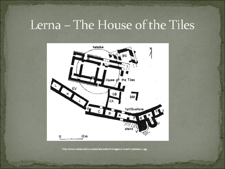 Lerna – The House of the Tiles http: //www. utexas. edu/courses/classicalarch/images 2/Lerna. EH 2