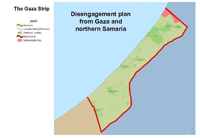 Disengagement plan from Gaza and northern Samaria