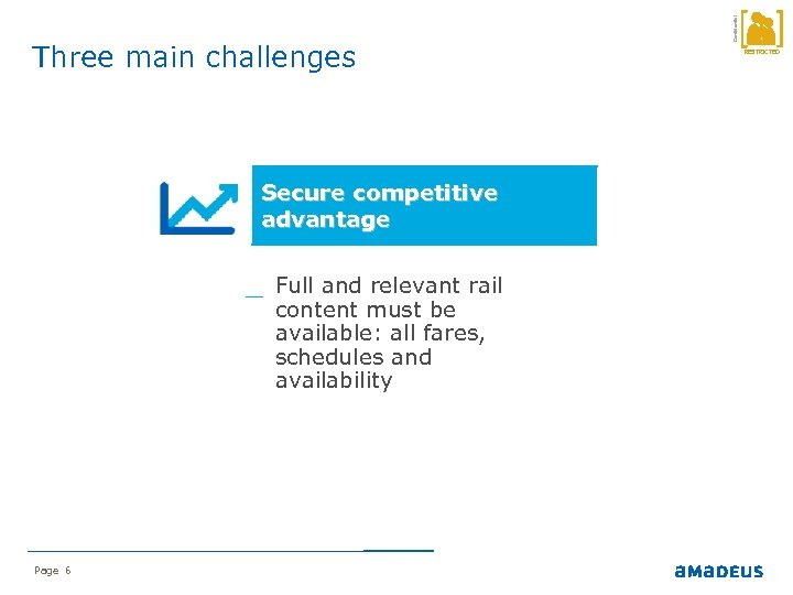 Secure competitive advantage _ Full and relevant rail content must be available: all fares,