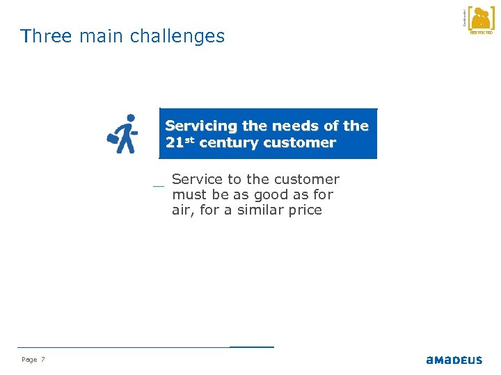 Servicing the needs of the 21 st century customer _ Service to the customer