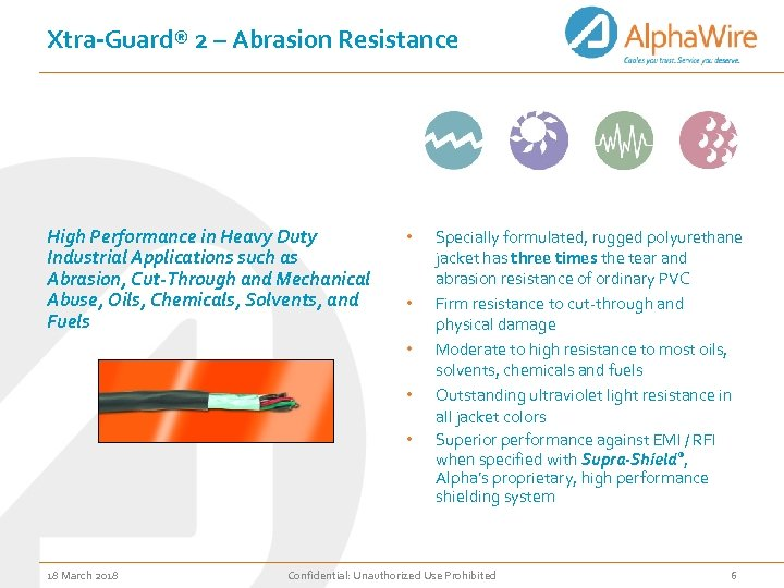 Xtra-Guard® 2 – Abrasion Resistance High Performance in Heavy Duty Industrial Applications such as