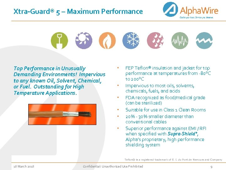 Xtra-Guard® 5 – Maximum Performance Top Performance in Unusually Demanding Environments! Impervious to any
