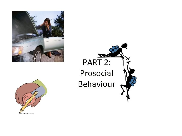 PART 2: Prosocial Behaviour
