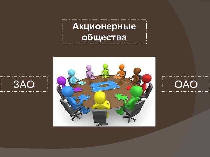 Акционерные общества ЗАО ОАО