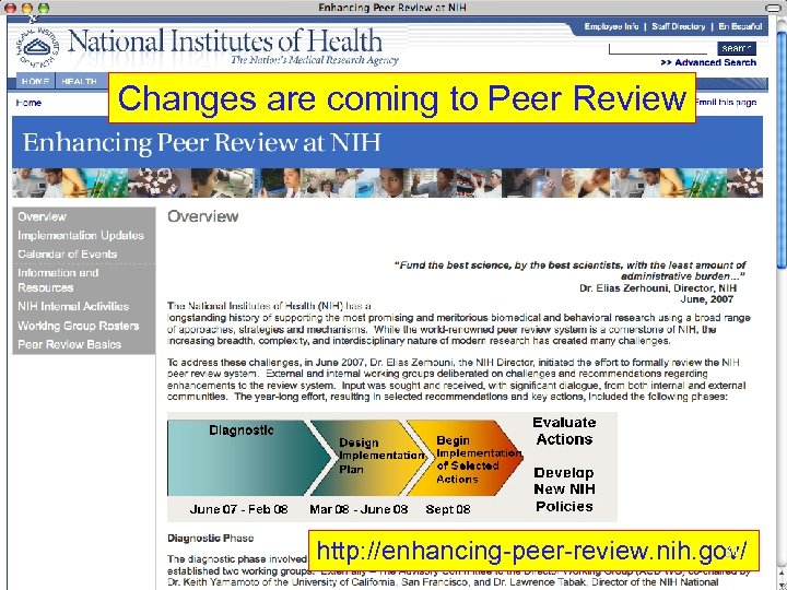 Changes are coming to Peer Review 31 http: //enhancing-peer-review. nih. gov/