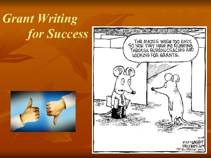 Grant Writing for Success 51