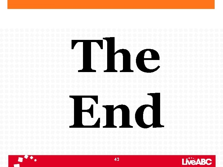 The End 43
