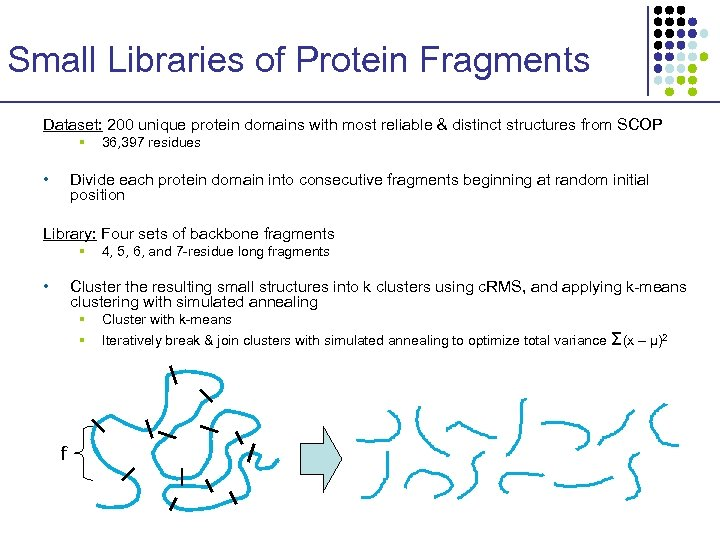 Small Libraries of Protein Fragments Dataset: 200 unique protein domains with most reliable &