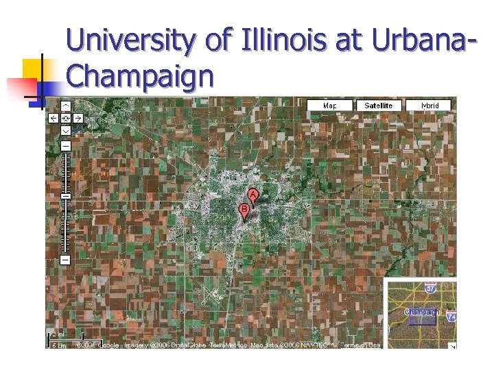 University of Illinois at Urbana. Champaign