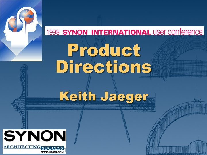 Product Directions Keith Jaeger