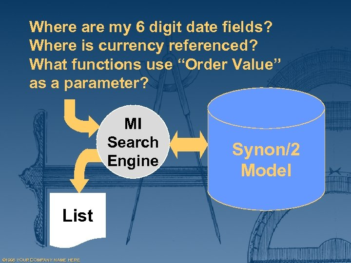 Where are my 6 digit date fields? Where is currency referenced? What functions use