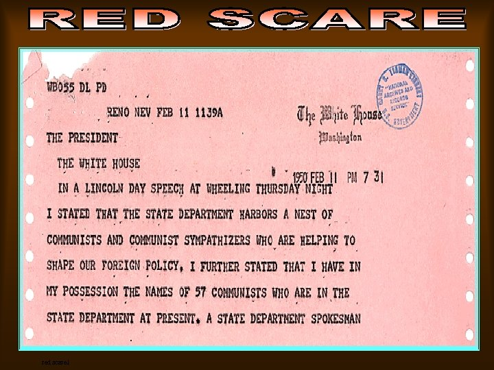 red scare 1