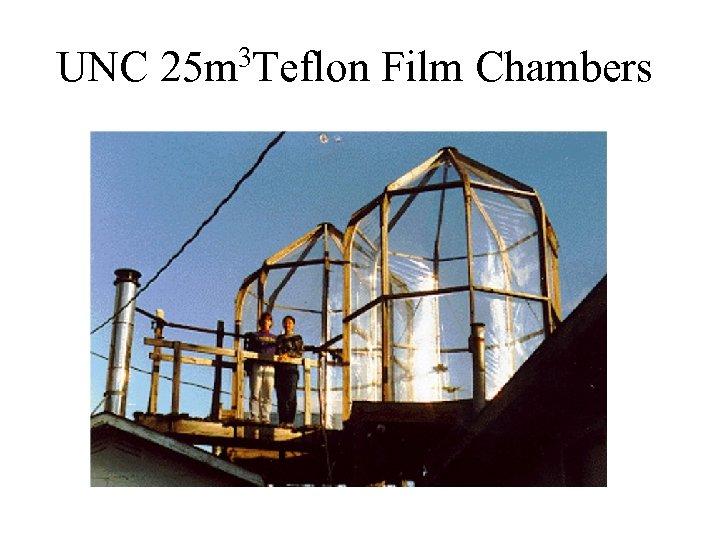 UNC 3 Teflon 25 m Film Chambers