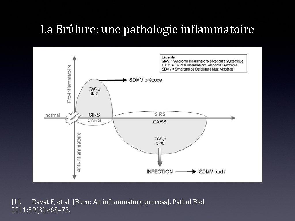 La Brûlure: une pathologie inflammatoire [1]. Ravat F, et al. [Burn: An inflammatory process].