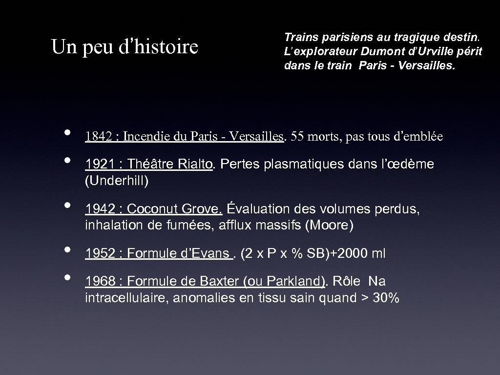 Un peu d'histoire • • • Trains parisiens au tragique destin. L'explorateur Dumont d'Urville